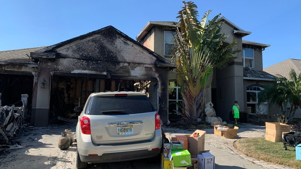 Community helping family after house destroys Lake Nona home