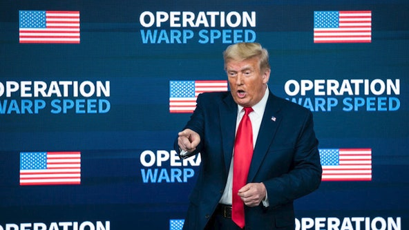 Trump issues commendations to Operation Warp Speed members, including Fauci, Birx