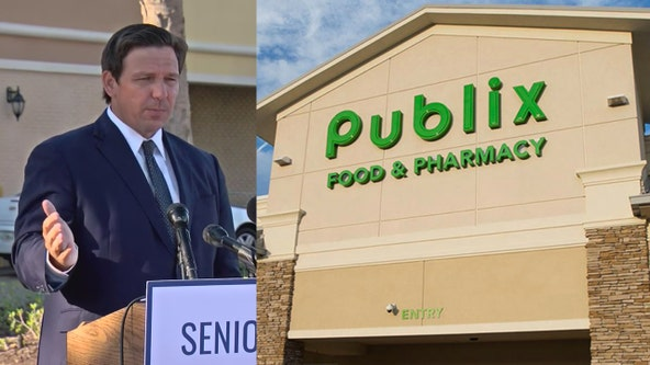 Gov. DeSantis further expands Publix's COVID-19 vaccine program