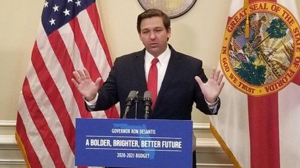 DeSantis calls on federal government to send more COVID-19 vaccine doses to Florida
