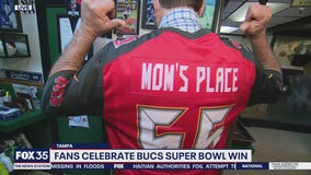 The Morning After: Fans celebrate Bucs' Super Bowl win