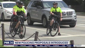 New policing proposals introduced