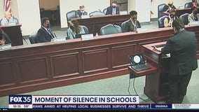 Florida lawmakers pushing moment of silence