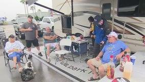 Fan fun at the 2021 Daytona 500 race