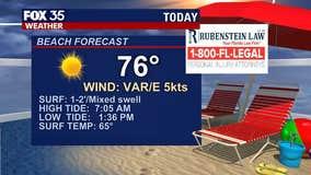 Beach and Boating Forecast: February 26, 2021