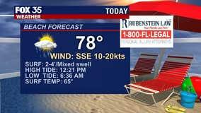 Beach and boating forecast: February 18, 2021