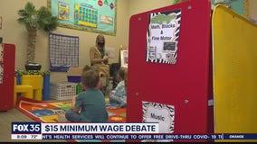Congress hammering out coronavirus relief, minimum wage