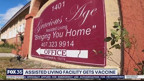 Sanford assisted living facility gets COVID-19 vaccine after first appointments canceled