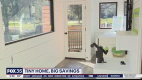 Tiny home demonstrates big savings, sustainability