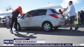 Food giveaway for those struggling in Osceola County