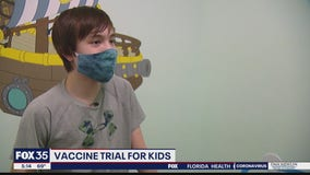 Vaccine trial for kids at Lake Nona clinic