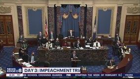 Day 3 of Trump impeachment trial