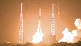 SpaceX launches Falcon 9 but loses first stage booster at sea
