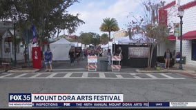 Mount Dora Arts Festival draws crowd with safety first