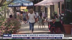 Winter Park cancels weekend festivities