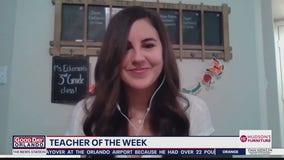 Teacher of the Week: Kelsey Eckerson