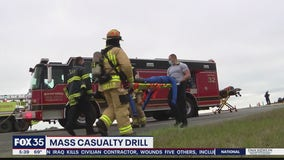 Orlando Sanford International Airport holds mass casualty drill