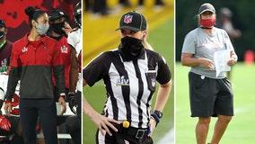 Breaking barriers: Female Bucs coaches, NFL referee make history