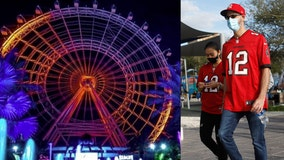 ICON Park offering 50 percent off 'The Wheel' attraction if wearing Bucs apparel this weekend