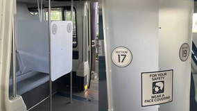 Disney World adds more partitions, sectioned areas on monorails