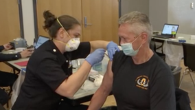 California vaccinations hit by icy weather shipment delays