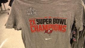 Bucs' Super Bowl merchandise hits the shelves at Florida stores