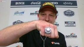 Daytona 500 winner Michael McDowell speaks with FOX 35