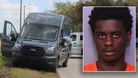 Polk deputies arrest man accused of carjacking Amazon delivery van