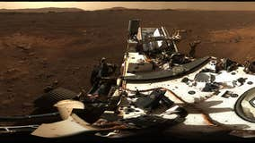 NASA's Perseverance rover sends back first HD Mars panorama