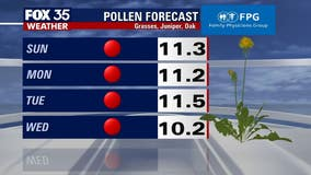 Allergies acting up? The pollen count in Central Florida is high