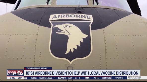 101st Airborne coming to Orlando to assist with vaccine distribution