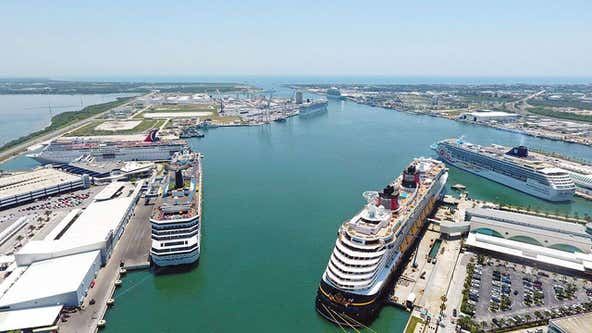 Port Canaveral officials host vaccine event, offer cruise voucher