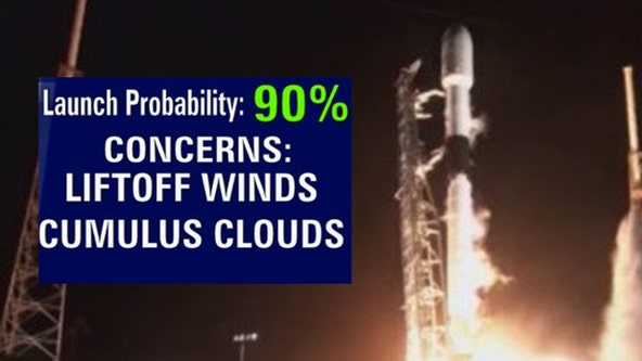 Forecast: SpaceX plans Sunday night Starlink launch