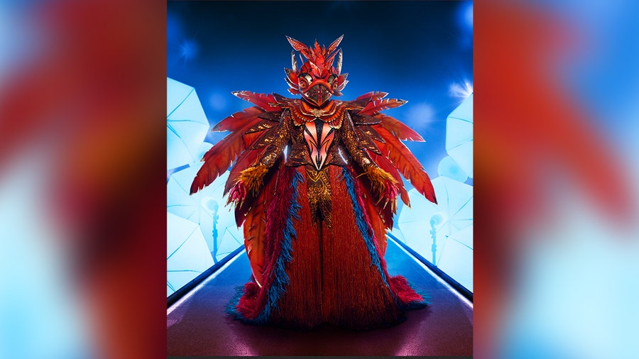 Exclusive costume reveal: The Phoenix takes flight in 'The Masked Singer' Season 5