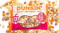 Dunkin' releases iced coffee-flavored jelly beans for Easter