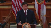 Gov. DeSantis speaks in Tallahassee, Florida