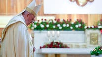 Pope Francis calls on Christians to forgive in land ISIS once ruled