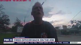 Fired DeLand police officer back on the job
