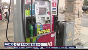 Gas pricing rising