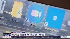 Class Zoom session interrupted by porn