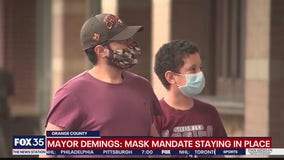 Mayor Demings says mask mandate staying in place
