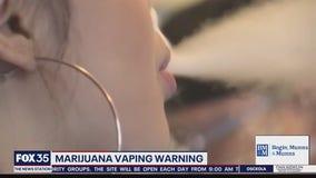 Marijuana vaping warning