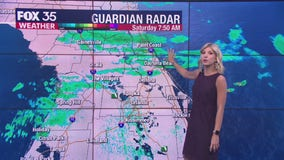 Make indoor plans: Wet weekend expected across Central Florida