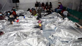 Biden administration releases images of Texas border facilities housing migrant children