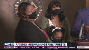 Bill proposes raising minimum age for arrests in Florida