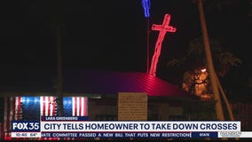 Winter Park tells homeowner to take down lighted cross