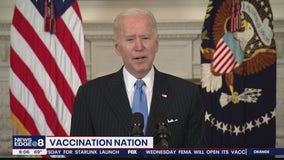 President says U.S. will have enough vaccine for every American by June