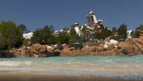 Guests enjoy first day back at Disney's Blizzard Beach water park