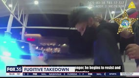 Video shows violent encounter between Flagler deputies, Georgia fugitive