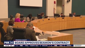 Seminole County School Board approves Beamon's contract